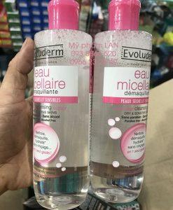 Evoluderm Eau Micellaire – Nước tẩy trang dành cho da th