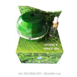 Trà xanh và Serum VIP - kem trị nám ngừa nhăn trắng da 35g