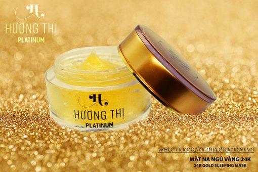 Hương Thị Platinum mặt nạ ngủ vàng 24K