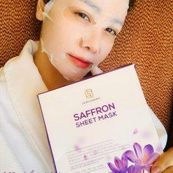 LauraSunshine-saffron-sheet-mask dưỡng ẩm da mặt