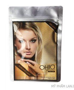 Ohio kem bột tắm trắng ngọc trai sữa ong chúa