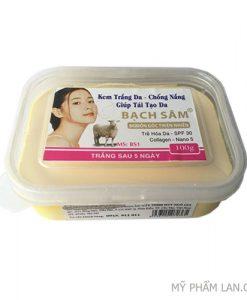 Bạch Sâm kem trắng cấp tốc 100g