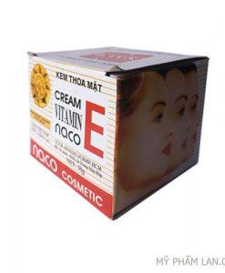 NACO kem trắng da vitamin E