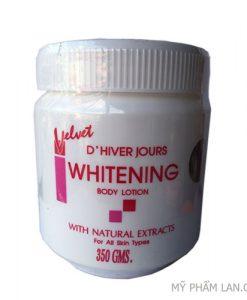 Velvet Whitening kem body thái lan