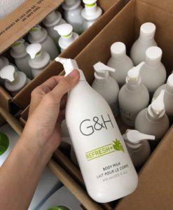 Amway Sữa dưỡng thể G&H Body Milk Refresh+