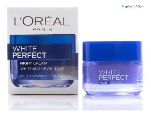 Loreal-White-Perfect-Night-cream-Kem-duong-trang-muot-deu-mau-an-dem-50ml-myphamlan