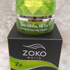 ZOKO-white-trang-giu-am-tai-tao-da-Z3-myphamlan