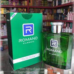 Romano nước hoa tại mỹ phẩm Lan