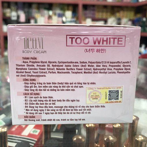 BEOVI-TOO-WHITE-kem-body-thanh-phan